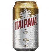 Cerveja Nacional Itaipava Lata Caixa c/ 12un de 350ml