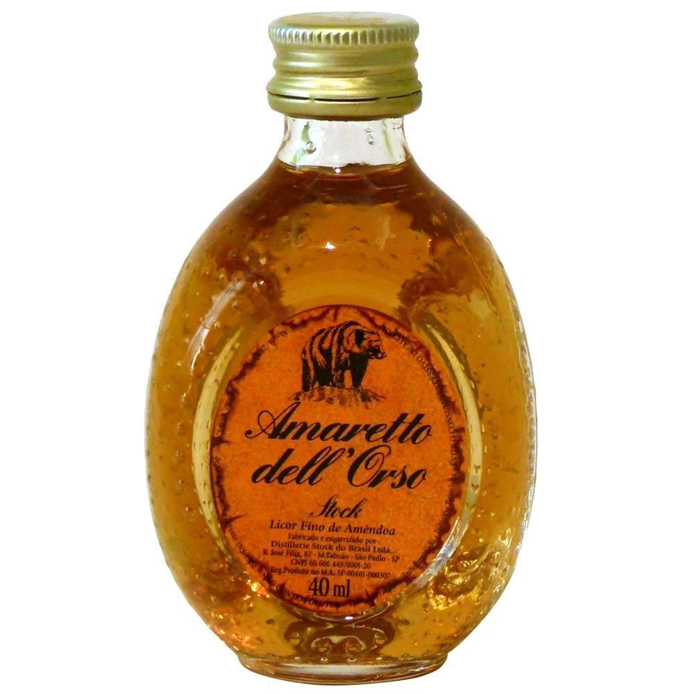 Licor Amaretto Dell Orso Miniatura 40ml